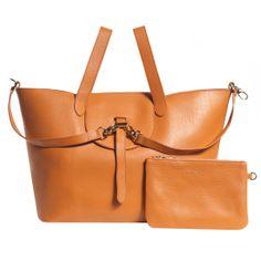 Thela mandarin cervo | meli melo - Luxury Italian Leather Handbags http://www.melimelo.co.uk/products/thela-bag-manderin