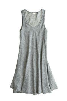 Bree Linen A-Line Dress::VIEW ALL::DRESSES::CLOTHING::Calypso St. Barth