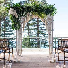 15 Glorious Ceremony Arches From Instagram - Decor | Wedding Club