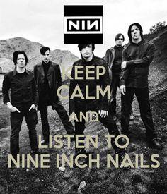 nine inch nails on Halloween, baby!!