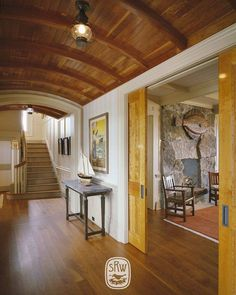Watch Hill - Shope Reno Wharton Shingle Style Architecture, Building Contractors, Coastal Style, Log Homes, Pergola, Outdoor Structures, Interior Design, House Styles, Watch