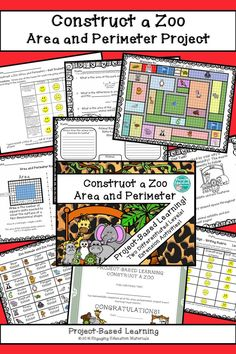 Periodic table of elements student learning stations periodic construct a zoo area and perimeter project based learning urtaz Image collections