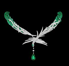 Figures of The Grand Pheasants and their elegance demonstrates the splendour of the eastern legends. Love Dance Necklace by Gilan. #GilanWoman #WalkingTaller
