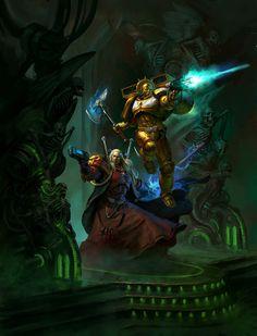 Dante novel cover art by johan grenier Warhammer 40k Blood Angels, Warhammer 40k Art, Warhammer Fantasy, Warhammer Models, Fantasy Warrior, Sci Fi Fantasy, Salamanders Space Marines, Tecno, Epic Art