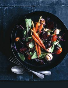 Root vegetable salad.