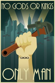 Art Deco Bioshock. OC, Thinking of making a Fallout one next. I guess this isn't…