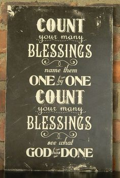 Count your many Blessings Plaque  by AnnabelleRoseDesigns on Etsy, $21.95