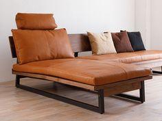 Natural Wood Furniture, Metal Furniture, Home Decor Furniture, Living Room Furniture, Furniture Design, Diy Corner Sofa, Diy Couch, Wood Chair Design, Sofa Design