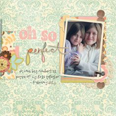 Uniquely You Kit + Iffy's Templates 02 from Peppermint Creative | page by @Stacey Ashby