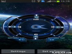 Space Tourism  Android App - playslack.com , Space tourism - these astonishing live wallpapers will support you examine the space. The app has chic timepiece, compass and shows the artillery attack and temperature.