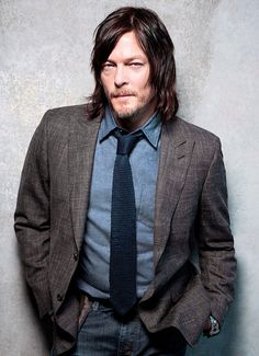 Norman Reedus photographed by Leslie Hassler for Downtown Magazine