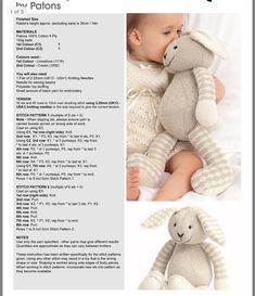 Knitting Toys Easy, Knitting Bear, Knitting Dolls Free Patterns, Knitted Dolls Free, Teddy Bear Knitting Pattern, Baby Cardigan Knitting Pattern, Knitting For Charity, Baby Hats Knitting, Baby Knitting Patterns