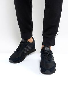 Shop adidas Originals Haven Sneakers In Black at ASOS. a25fd339271