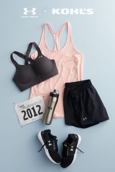 You're running a race—go you! Whether it's your first 5K or you're tackling a half marathon, you're going to need workout gear that's up to the task. Add an extra-supportive sports bra, lightweight tank and running shorts to your must-have list. Get your start with Under Armour, now at Kohl's.