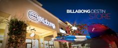 Billabong is a fun store with a lot to offer. You can find cute clothes, shoes and surf gear here in Grand Boulevard.