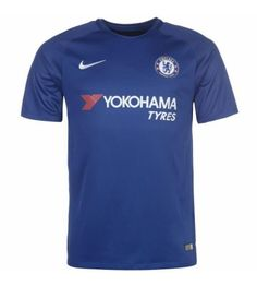Billiga Chelsea Hemmatröja 17-18 Kortärmad Chelsea Fc, Premier League, Mens Tops, T Shirt, Fashion, Tee, Moda, La Mode, Fasion