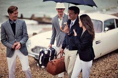 Under The Umbrella - Hackett Designer Menswear Spring/Summer 2011 by Hackett London, via Flickr