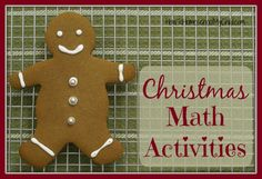 Discover 6 fun Christmas math activities fro kids to do - they won't even know they are learning! ...from www.HowToHomeschoolMyChild.com