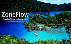 ZoneFlow Peak Performance Leadership seminars and keynote addresses.