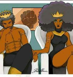 King ejibe and queen Aya