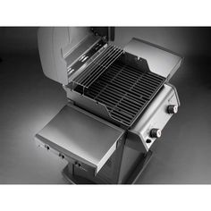 weber spirit s210 2burner natural gas grill in stainless steel silver - Weber Gas Grills On Sale