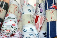 Tenugui - use it as a towel, scarf, wrapping, art...