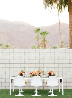 MODERN PALM SPRINGS WEDDING INSPIRATION-Palm Springs Style Magazine