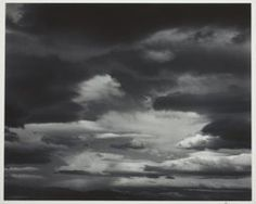 Edward Weston (American, printed by Brett Weston (American, Clouds, Death Valleym, 1939 Gelatin silver print x cm Virtual Field Trips, Edward Weston, Gelatin Silver Print, Modern Photography, Art Institute Of Chicago, Death Valley, Still Life, Clouds, Black And White