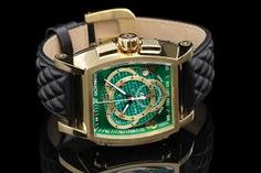 Image result for Quilted Leather Strap big watches