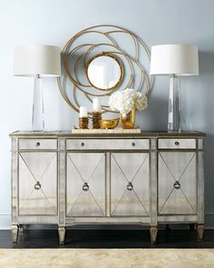 Amelie Mirrored Buffet/Console Compare At: $2,286.00 Special Value: $1,599.00