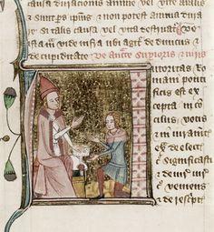 Auctoritas (Papal authority)  Omne Bonum (Circumcisio-Dona Spiritui Sancti)  England, S. E. (London); c. 1360- c. 1375
