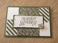 Stempellicht: Geburtstagskarte .... Match the Sketch Challenge