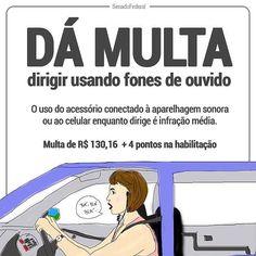 O artigo 252 do Código de Trânsito Brasileiro também se aplica à dispositivos de áudio conectados via bluetooth. #agentenaoquersocomida #avidaquer @avidaquer por @samegui avidaquer.com.br https://scontent.cdninstagram.com/t51.2885-15/sh0.08/e35/15047054_555789771297827_4317643430537723904_n.jpg?ig_cache_key=MTM3OTkyNjIwNzAyNTY2MjUzMA%3D%3D.2