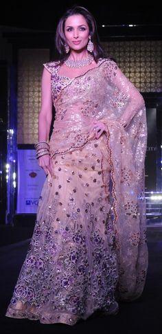 Malaika Arora Khan for Designer Bhairavi Jaikishan http://bhairavijaikishan.com/#/Home Bridal Wear