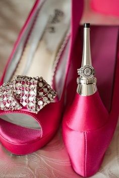 These #cute and #fun heels will bring you through your #unforgettable #journey on your #wedding day. For more inspiration visit our website! prestonbailey.com