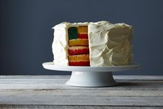 How to Make a Flag Cake for the Fourth of July: More oohs & aahs than the fire works. #food52