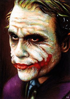 The joker is unimpressed with your Pinterest scrolling.
