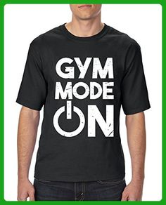 Ugo Go Hard or Go Home Support Gym Workout Cardio Fitness Exercise Sport Transformation Apparel Gift for Ultra Cotton Unisex T-Shirt Tall Sizes - Workout shirts (*Amazon Partner-Link)