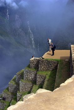 Machu Picchu, Cusco, Peru I need to go since my pregnancy with Meg kept me from going last time! I was so close hanging out in a hotel in Cusco! Paul went up in a helicopter! Places Around The World, Oh The Places You'll Go, Places To Travel, Places To Visit, Around The Worlds, Machu Picchu, Huayna Picchu, Wonderful Places, Beautiful Places