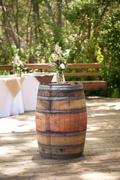 Bingo!! Have wine-barrel, will do THIS with it!