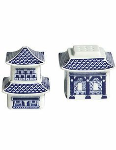 Wedgwood Johnson Brothers Willow Blue Pagoda Salt & Pepper by Johnson Brothers. $16.99. A beautiful blue and white pattern with touches of the Orient, Willow Blue is both elegant and charismatic.