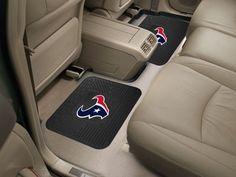 "NFL - Houston Texans Backseat Utility Mats 2 Pack 14""x17"""
