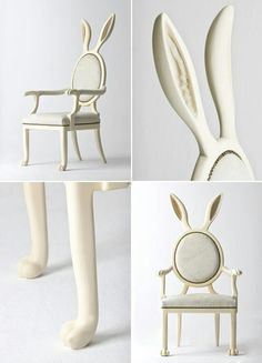 I Want The This Chair Really Badly. HYBRID HYBRID Collection Was Inspired  By The Mythologies Of Parahumans. This Anthro Chair Unions With Its Owner,  ...