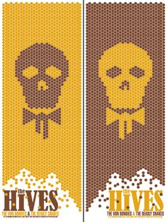 GigPosters.com - The Hives - Von Bondies - Deadly Snakes, The
