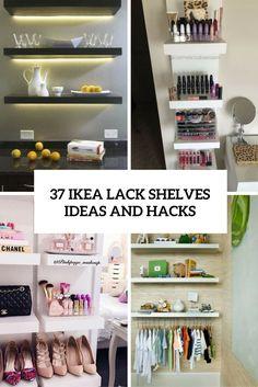 37 IKEA Lack Shelves Ideas And Hacks | DigsDigs | Bloglovin'