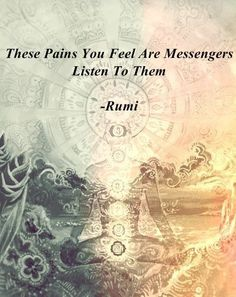 Don't ignore the painful feelings. #EasyMeditation