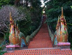 Steps to Doi Suthep