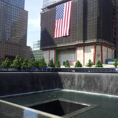 World Trade Center Memorial, I went with my family, it was so sad.