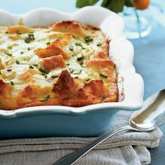 Creamy Egg Strata - Filling Breakfast Casserole Recipes - Southern Living
