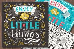 Motivational posters by piyacler on @creativemarket